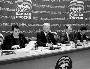 Борис Грызлов рассказал, что проекту «Чистая вода» придан статус государственной программы