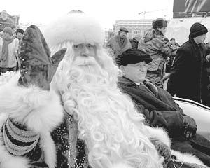 В Москву приехал Дед Мороз