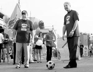 Борис Грызлов стал автором слов и музыки к футбольному маршу