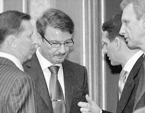 Заседание правительства РФ 29 декабря 2005 г