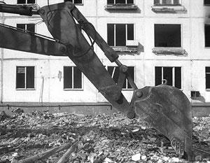 Программа сноса пятиэтажек действует в Москве уже несколько лет