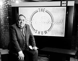 Преследование в отношении Сэлмонда велось еще когда он был лидером шотландских сепаратистов, и возобновилось после его прихода в Russia Today