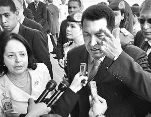 Уго Чавес посещает Москву в рамках турне по ряду стран