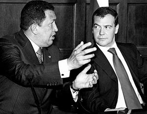 Переговоры между Дмитрием Медведевым и Уго Чавесом