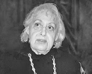 Поэтесса Елизавета Мнацаканова