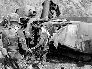 Американский вертолет Apache, сбитый в Ираке, был поражен российской ракетой