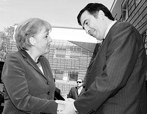 Ангела Меркель обещала взять Грузию в НАТО