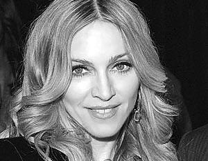 Мадонна многое делает первой