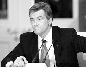 Виктор Ющенко пообещал воссоединить Грузию