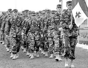 Солдаты Грузии