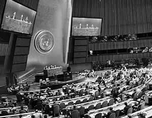 В Нью-Йорке проходит 63-я сессия Генеральной ассамблеи ООН