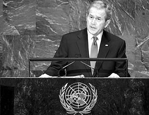 Джордж Буш никого удивить не смог