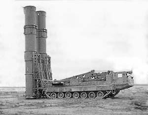 Многоканальная зенитная ракетная система (ЗРС) дальнего действия «Антей-2500».