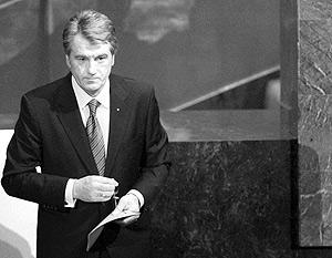 Президент Виктор Ющенко готов подписать указ о роспуске парламента