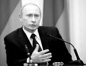 Владимир Путин выводит страну из кризиса