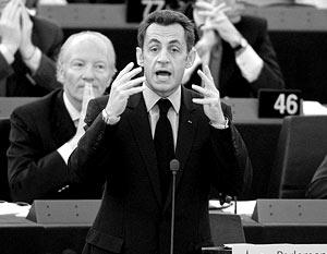Саркози призвал европейское сообщество не портить отношения с Москвой