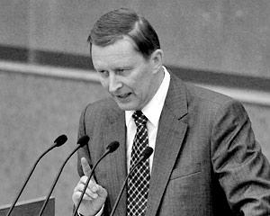 Министр обороны Сергей Иванов