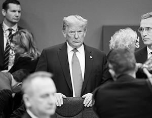 Трамп почувствовал себя на саммите НАТО обиженным и решил уехать досрочно