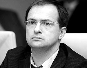 Член Генерального совета «Единой России» Владимир Мединский