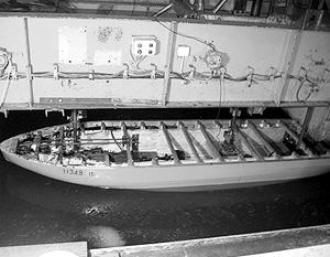 Масштаб модели ледокола – 1 к 74