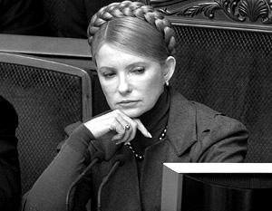 Тимошенко не знает, когда газ попадет в Европу