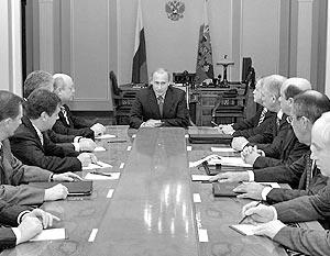 Заседания Совета безопасности