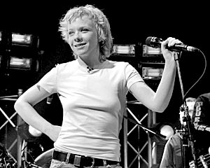 Музыкант Елена Перова