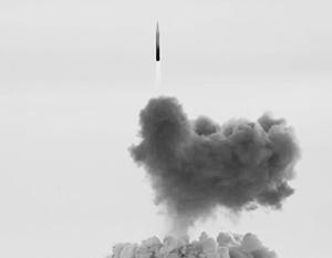 Минобороны опубликовало пока только видеозапись старта ракеты, но не ее попадания по мишени