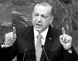 Эрдоган обозначил новые границы турецкого присутствия в Сирии