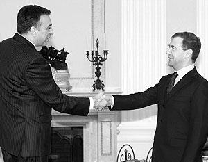 Медведев и Вуянович обсудили вопросы сохранения европейской стабильности и  отмену виз между Россией и Черногорией