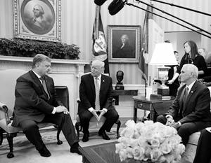 В Киеве отметили желание «выдающегося дипломата и кондитера современности» при любых условиях побыть в одном помещении с Трампом