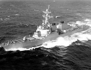 Эсминцы класса Arleigh Burke несут до 90 установок для запуска ракет SM-3
