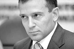 Лидер «Наших» Василий Якеменко