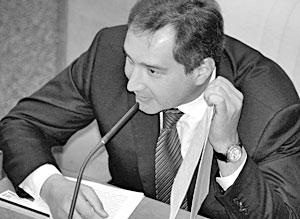 Бывший лидер партии «Родина» Дмитрий Рогозин