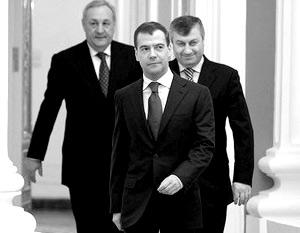 По словам Медведева, подписание документов есть «подтверждение суверенитета этих стран»