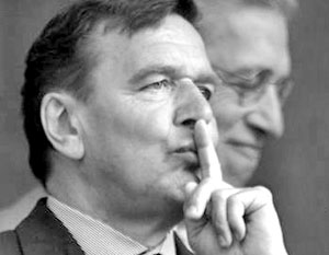 Бывший канцлер Германии Герхард Шредер