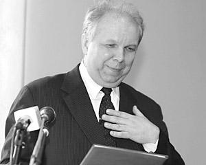 Губернатор Ивановской области Владимир Тихонов