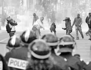 В Париже прошел всеобщий митинг протеста