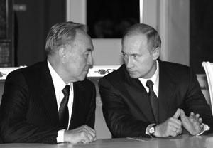 16 мая состоялась встреча Владимира Путина и Нурсултана Назарбаева