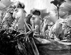 Мультфильм «Ледниковый период-3» продлил Год семьи в России