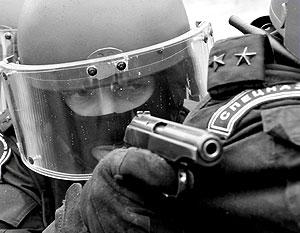 Сотрудники милицейского спецназа попросили бандитов о помощи