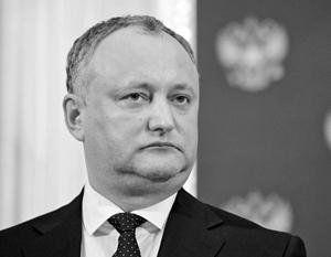 Через год Игорь Додон мог бы добиться реальной власти в Молдавии, проголосуй за него сотни тысяч приднестровцев