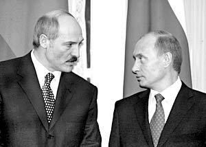 Владимир Путин приказал прекратить дотирование белорусской экономики за счет России