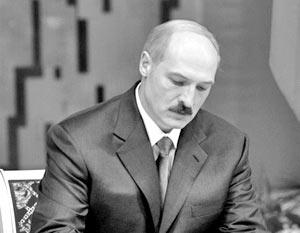 Евросоюз арестует счета Лукашенко