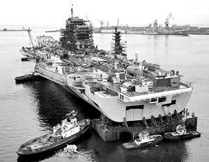 Стоимость авианосца «Адмирал Горшков» может составить для Индии до трех миллиардов долларов