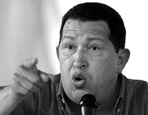 Чавес предупредил Обаму о последствиях возможного нападения США на Венесуэлу