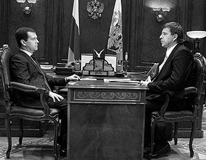 Президент РФ обсудил с главой Минюста уголовное законодательство