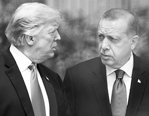 Любопытно, с кем еще из коллег Трамп позволяет себе так общаться, как с Эрдоганом