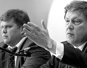 Руководство «Яблока» критикуют за то, что аудитория партии «сократилась в разы»