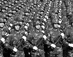 Численность китайской армии составляет примерно 2,25 млн человек
